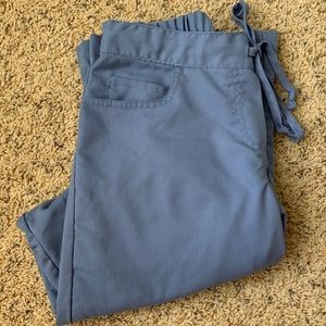 XS light blue Grey's Anatomy scrub pants